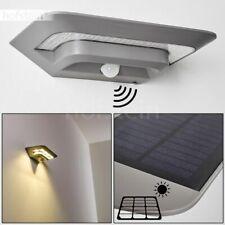 Solar Terrassen Haus Tür Einfahrt Hof Leuchte Bewegungsmelder Außen Wand Lampen