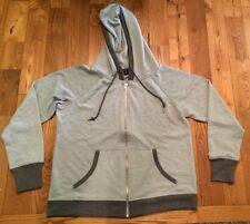 NWT Womens CHAMPION Grey Full Zip Hooded Sweatshirt Jacket Sz XL X-Large