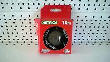ROTELLA METRICA 10MT METRI NASTRO FIBERGLASS 16MM PROFESSIONALE