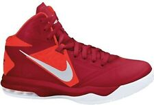 NEW Nike Air Max Body U TB size 9.5 Red Silver Crimson Basketball Shoes Sneakers
