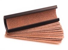 Cue Stick Tip Sander / Shaper - Pool Billiard Tool + 12 Sandpaper Inserts – Rasp