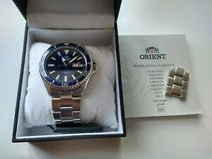 Orient Kamasu Automatic Blue Diver Watch - Great Condition