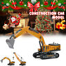 Engineering Construction Truck Car Crane Model Excavator Digger Vehicle Kids Toy