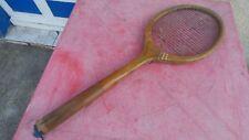 raquette de tennis vintage Week-End en bois wooden racquet