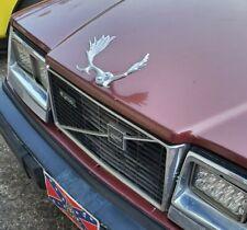 Volvo Moose Antlers Rat Rod Hood Ornament, Ideal for Custom Volvo or Big Rig