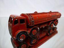 MORESTONE FODEN 8 WHEEL PETROL TANKER - ESSO - RED L13.6cm - GOOD CONDITION