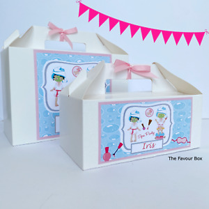 Personalised Gift Box, Party Bag, Pamper Night Theme