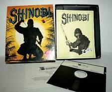 SHINOBI SEGA FLOPPY VIRGIN GIOCO USATO COMMODORE 64 EDIZIONE EUROPEA DM1 40987