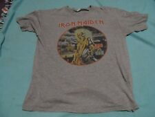 Iron Maiden Killers Vintage Style shirt, size extra large great condition