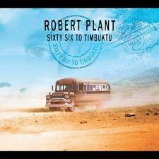 Robert Plant - Sixty Six to Timbuktu (CD, Nov-2003, 2 Discs) Atlantic NEW SEALED