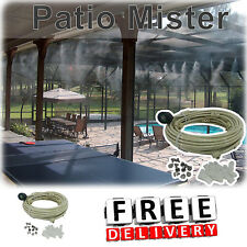Mist Cooling System 24 Ft Outdoor Portable Garden Patio Mister Kit Water Spray