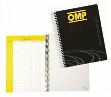 OMP Pilot Co-Driver Pad Notebook Notepad Compact Size 130 Pages