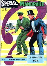 SPECIAL MANDRAKE 41 LE MAGICIEN 900  EDITIONS DES  REMPARTS 1967