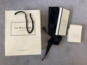 Jo Malone Empty Bag, Box x 2, Ribbon