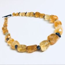 Silpada Sterling Silver Citrine Necklace  N1193  Retired!