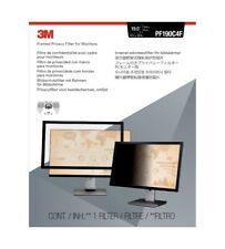 """3M Framed Privacy Filter for 19"""" Standard Monitor PF190C4F (Brand New)"""