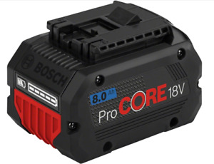 BOSCH: Battery Pack ProCORE18V 8.0Ah Professional - with COOLPACK 2.0 technology