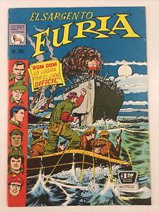 1971 SPANISH COMICS EL SARGENTO FURIA #106 SGT NICK FURY LA PRENSA MEXICO