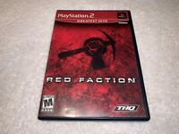 Red Faction (Playstation 2, 2002) PS2 Greatest Hits Game Complete Excellent!