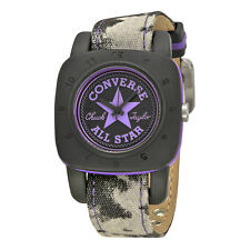Converse Premium Black Dial Purple Canvas Unisex Watch VR-029-047