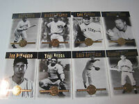 2001 UPPER DECK HALL OF FAMERS W FOUR INSERT SETS