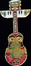 Hard Rock Cafe VANCOUVER 1997 Totem Pole Guitar PIN - HRC Catalog #10304