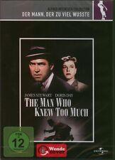 DVD DER MANN DER ZUVIEL WUSSTE v. Alfred Hitchcock, James Stewart ++NEU
