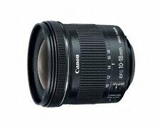 Canon EF-S 10-18mm f/4.5-5.6 IS STM Lens, Black - Open Box Demo