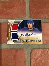 Mark Messier autograph signed card NY Rangers Upper Deck Winning Materials  3/15