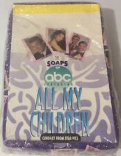 """FACTORY SEALED BOX """"ALL MY CHILDREN"""" TRADING CARDS 36/10ct PACKS"""