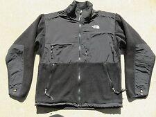 Mens NORTH FACE Black Denali Vented Zip Fleece Polartec Jacket Sweater Medium