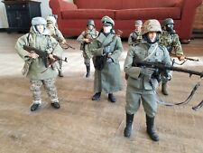 Lot of seven hard-to-find 1:6 scale Dragon WWII German action figures.