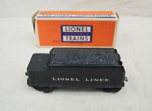 LIONEL #6066T TENDER IN ORIGINAL BOX GOOD CONDITION UNTESTED SOLD AS IS