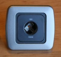 Campervan Single 12v Socket - CBE 12v Socket, Motorhome 12v Socket - Silver