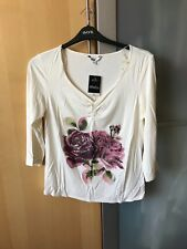 A BRAND NEW WITH TAGS SIZE 16 M&Co LADIES LONG SLEEVE TOP