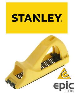 """STANLEY 6"""" (150mm) Moulded Surform Pocket Block Plane Wood Hand Rasp, 521104"""
