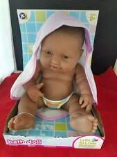 Jc Toys Bath doll lots of Love Babies Either Pink or Purple & White Outfit