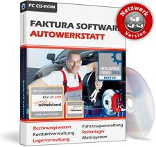 Kfz Werkstatt Software,Büro,Office Netzwerk-Lösung für 10 PC,Server-Client EDv