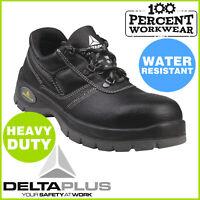 Pro Heavy Duty Hard Wearing Work Safety Shoes Steel Toe Cap Mechanics Warehouse