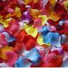 1000pcs Various Colors Silk Flower Rose Petals Wedding Party Table Decoration