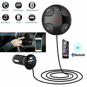 Bluetooth Wireless Handsfree Car Charger FM transmitter Modulator for iPhone HTC