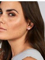 Diamanten Ohrringe Ohrstecker 24 Brillanten 0,45 Carat VS 585er 14K Weissgold