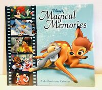 HTF Disney 2004 Magical Memories 16 Month Calendar Craft Wall Art Sealed!