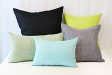 Aiking Home Woven Fine Faux Linen Throw Pillow Cover--Multi Size & color