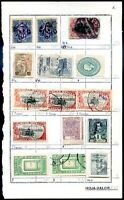 MEXICO 15 OLD STAMPS LOT, NICE!