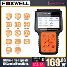 FOXWELL NT650 Elite ABS Airbag SAS EPB Oil DPF 16 Reset Functions Code Reader