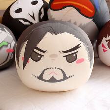 Overwatch Hanzo Round Cushion Cute Ball Dumpling Hold Pillow Doll Toy