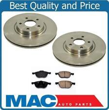 Frt Disc Brake Rotors Ceramic Pads 3Pc For 13-17 C-Max Energi SEL 13-17 Escape