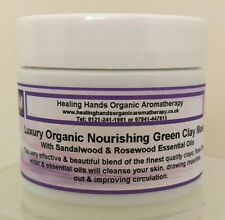 Natural Luxury Organic Hand Blended Clay Face Mask For Mature Skin - 65g