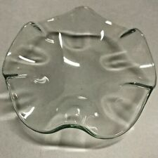 "3.75"" Wide Fine Clear Glass Dish for Plug-in Aroma Lamp Free Shipping"